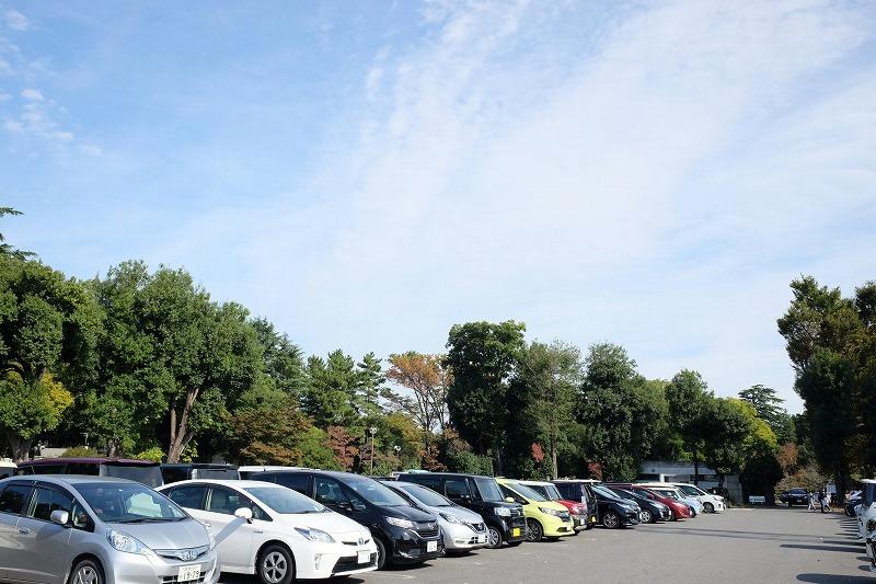 群馬の森 駐車場